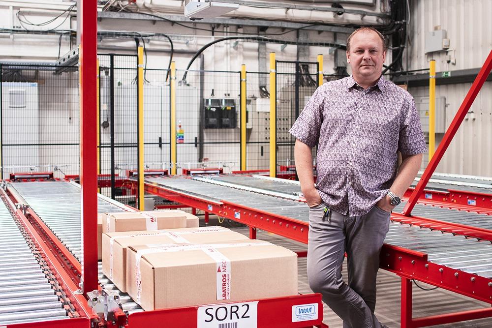 Nový logistický systém usnadňuje práci