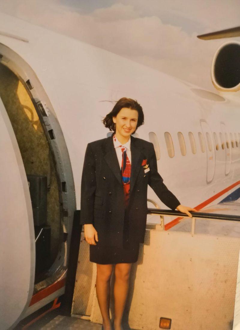 Bývalá práce letušky
